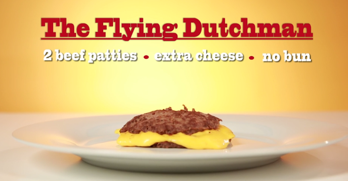 What it is: Basically just a grilled cheese with burger patties instead of bread.