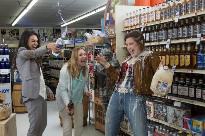 Kunis, Bell, and Hahn in Bad Moms.