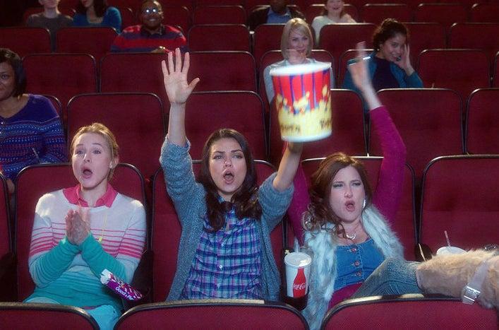 Kristen Bell, Mila Kunis, and Kathryn Hahn in Bad Moms.