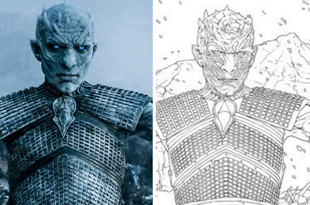The New quot Game Of Thrones quot Coloring Book Looks Badass