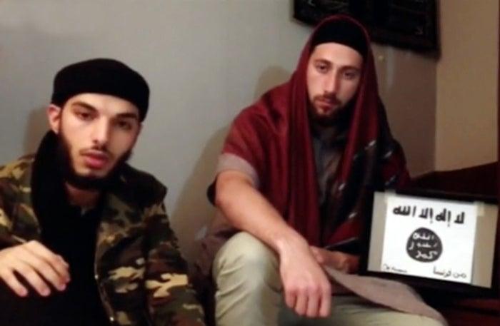 Adel Kermiche, left, and Abdelmalik Petitjean aka Abdel Malik
