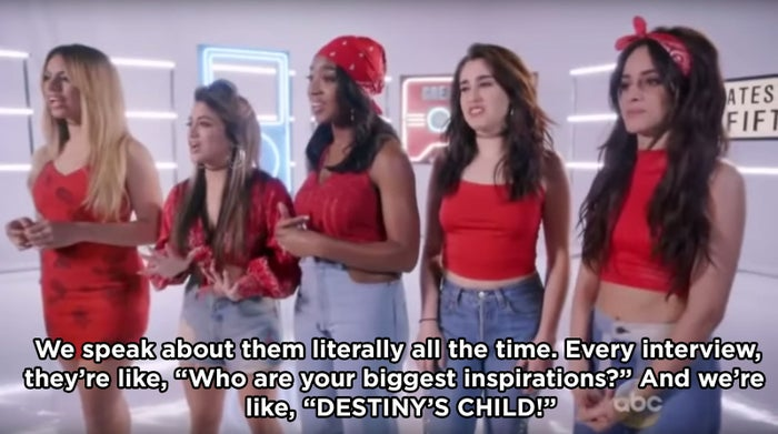 """""""We speak about them literally all the time. Every interview, they're like, 'Who are your biggest inspirations?' And we're like, 'DESTINY'S CHILD!'"""""""