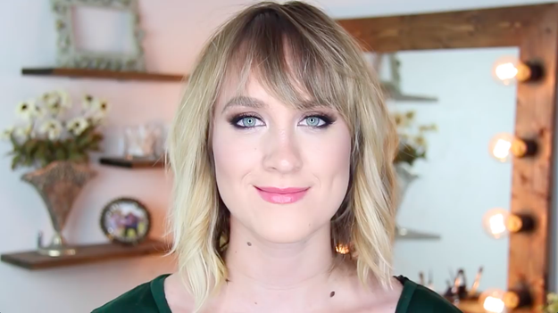 This is makeup artist and YouTube personality Katelyn Galloway, aka Kiki G.