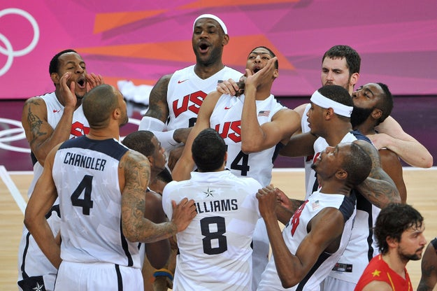 The Olympic games are upon us yet again, and one of the things we're ~obviously~ looking most forward to is watching the men's basketball games.