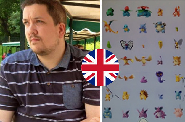 The First Pokémon Go Player In The UK To Catch Em All Says The - This pokmon go player is the first person to catch them all