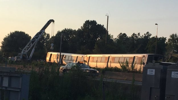It's been a rough summer for DC Metro riders, and it only got worse Friday morning when a train derailed in northern Virginia.