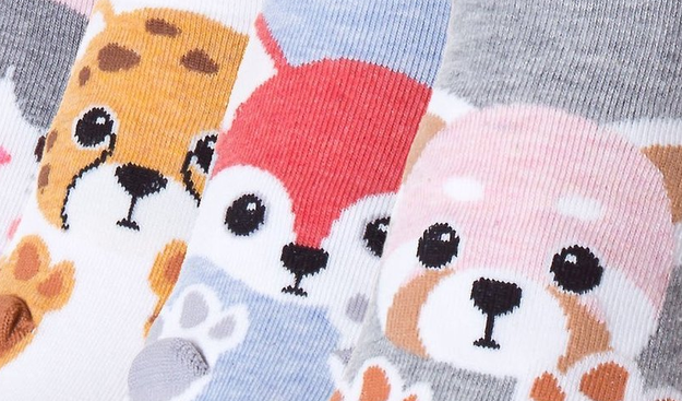 A pack of socks that'll make your feet so much cuter than they were before.