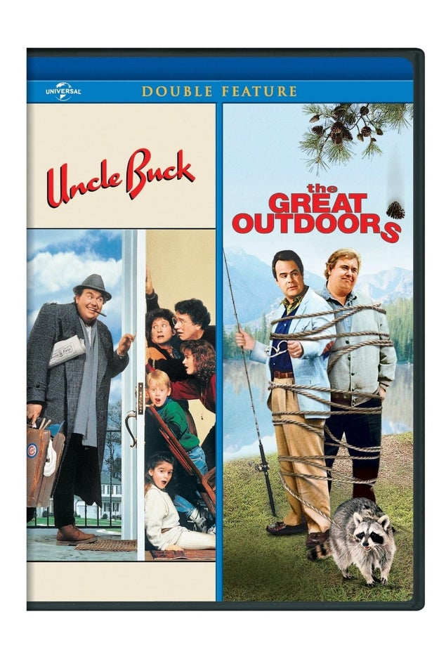 Two *classic* movies staring the one-and-only John Candy (Uncle Buck and The Great Outdoors).