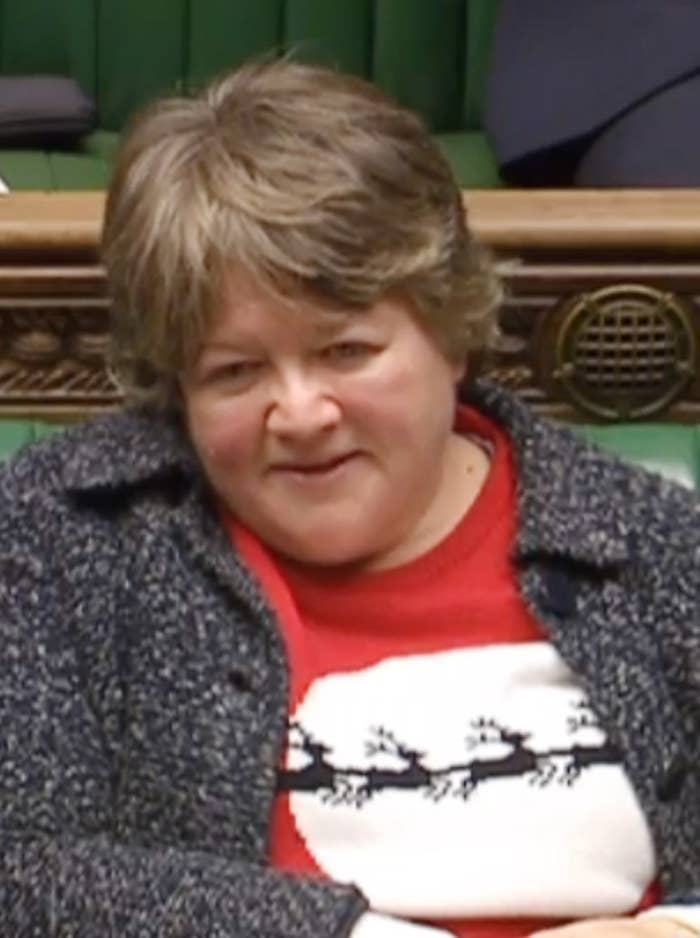 Therese Coffey MP in the Commons.