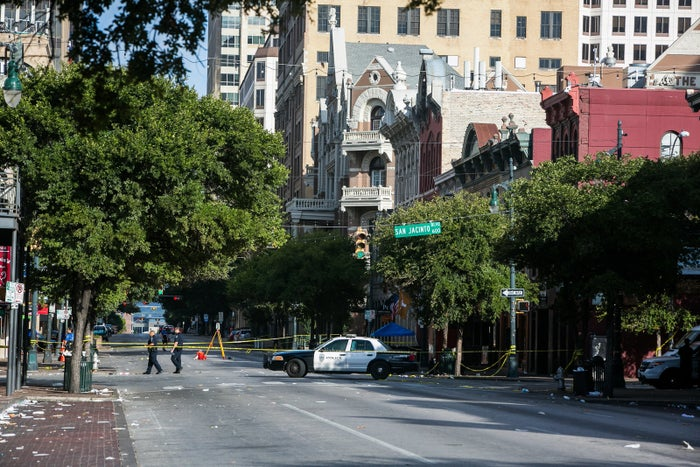 Emergency services confirmed on Twitter that they responded to reports of multiple victims following a shooting in downtown Austin in the early hours of Sunday.