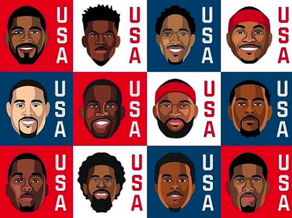 The US Men's Basketball team has been gearing up for the Rio Olympics.