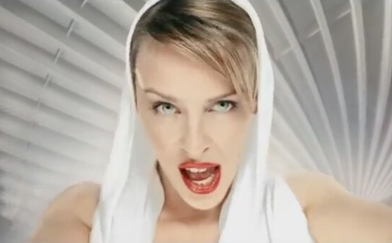 There was definitely at least one girl at your formal who took style inspiration from this video clip.