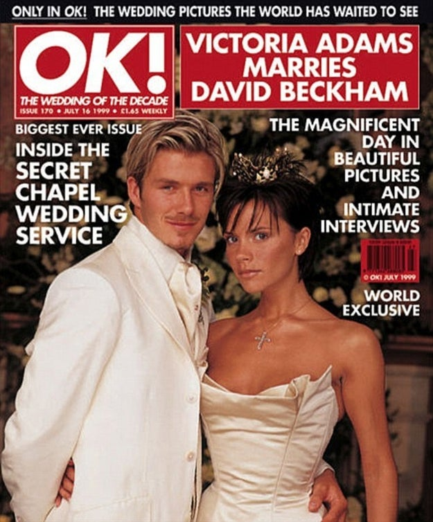 On this day in 1999, Victoria Adams became Victoria Beckham and our lives have never been the same again.