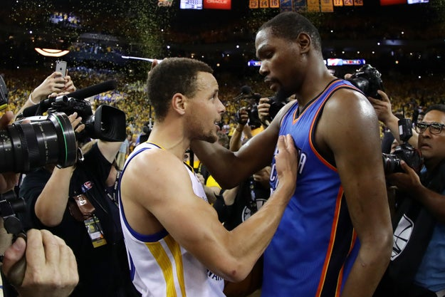 In recent news, Kevin Durant has officially made his decision to leave Oklahoma City and sign with The Golden State Warriors.
