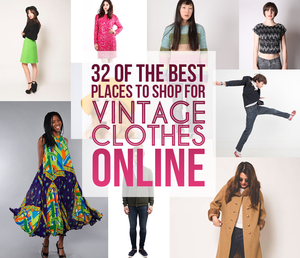 32 Of The Best Places To Shop For Vintage Clothes Online