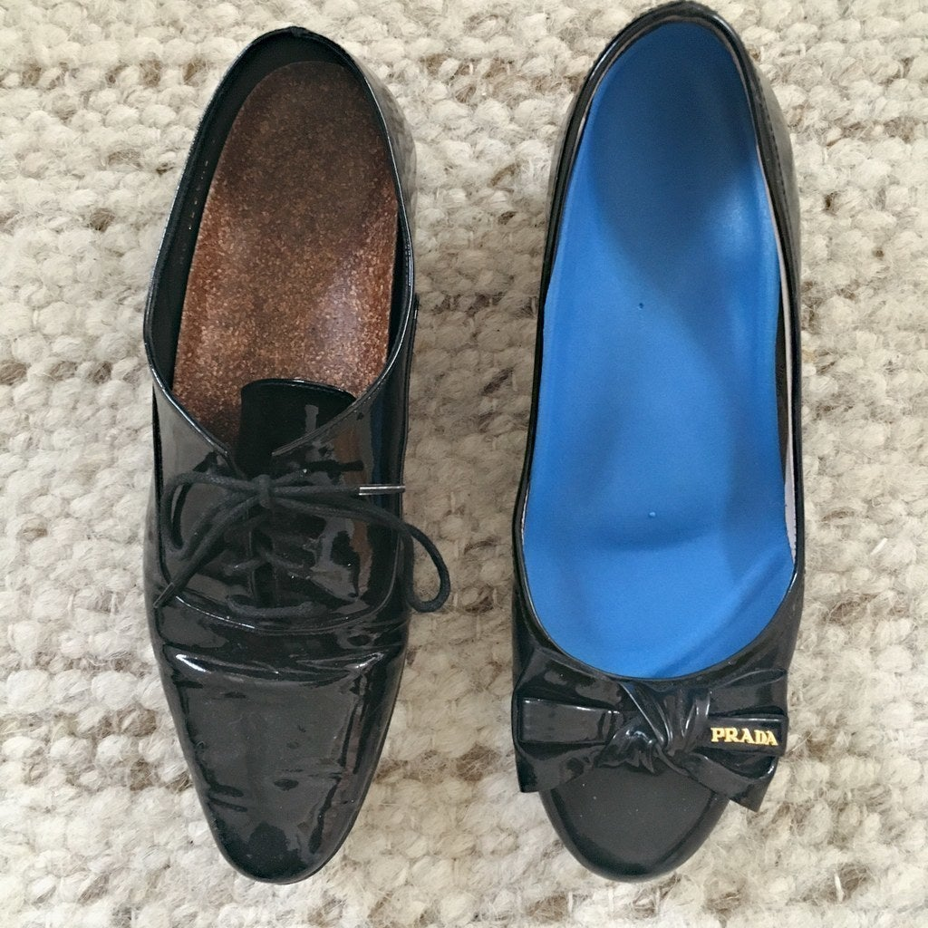 The insoles work in both pairs of my other favorite flats.