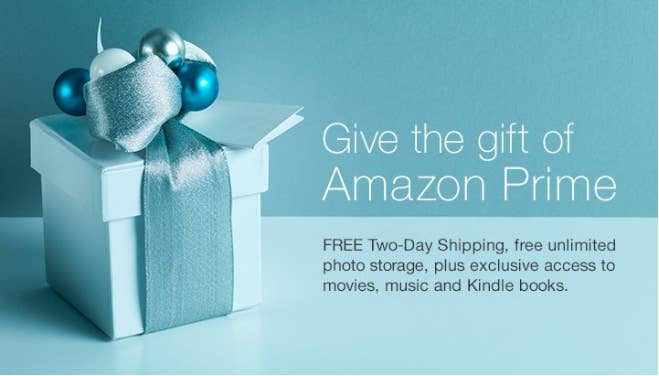 Free two-day shipping on pretty much everything — perfect for your parents who just discovered the joy of shopping online. $99 for one year, Amazon.
