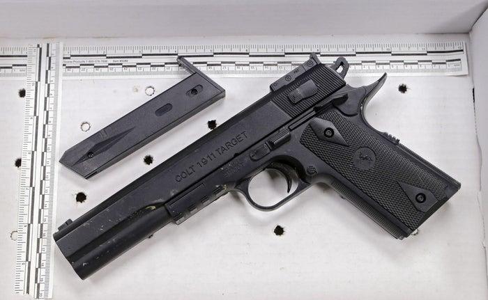 Fake handgun taken from 12-year-old Tamir Rice in November 2014.