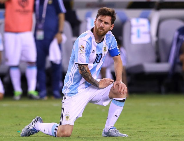 Lionel Messi had maintained throughout the trial he