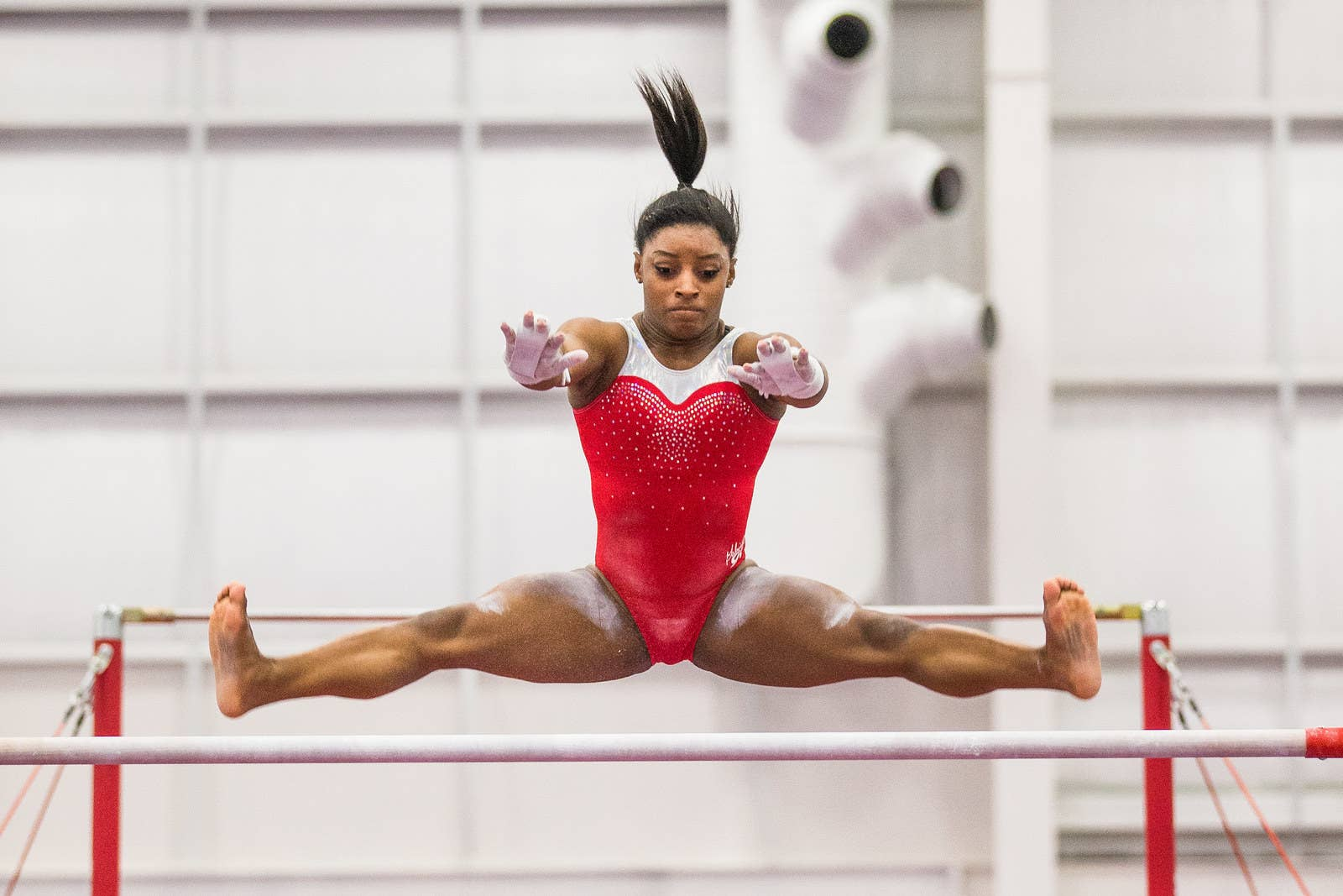 Winwin gymnastics - Biles At Her Family Gym World Champions Centre In Spring Texas On Jan