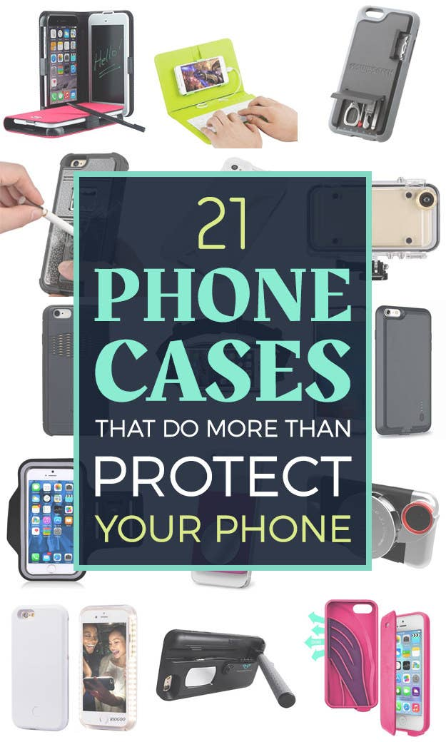 b1d81e9194c 21 Phone Cases That Do More Than Protect Your Phone