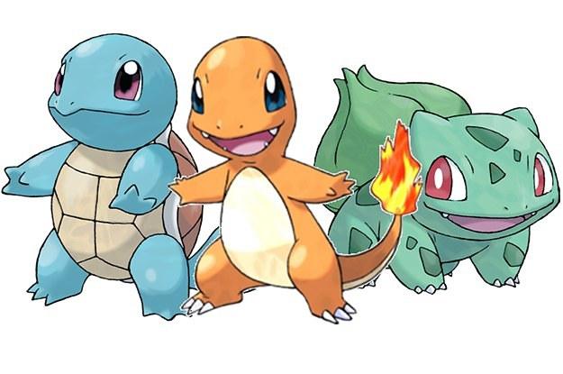 Pokemon Go Starters Images