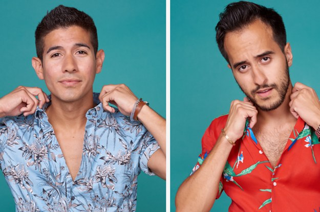 824d1679 We Asked 12 Men To Style Hawaiian Shirts And This Is What Happened
