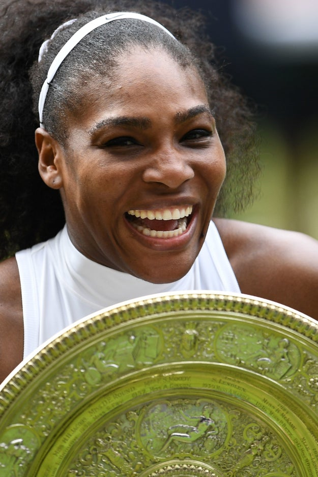 In case you weren't watching, Serena Williams just slayed the hell out of Wimbledon, defeating Angelique Kerber and winning her 22nd Grand Slam title.