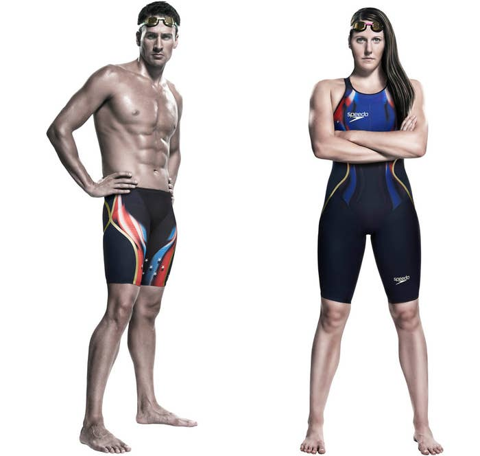 f7e4d6a865 To gain every competitive advantage possible, swimmers don competition  technical suits (think: swimsuits literally with space-age technology) for  big meets ...