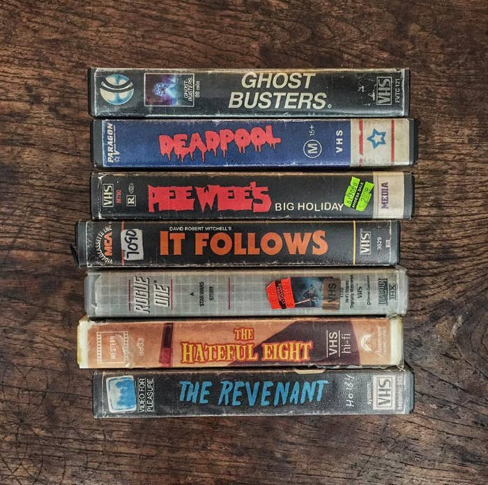 Here's What Modern Movies Would Look Like As VHS Tapes