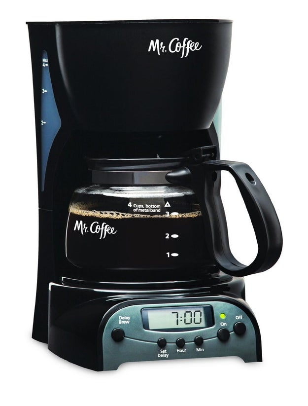 Like a coffee machine that you can program to start brewing as soon as your bleary eyes see the light of day?