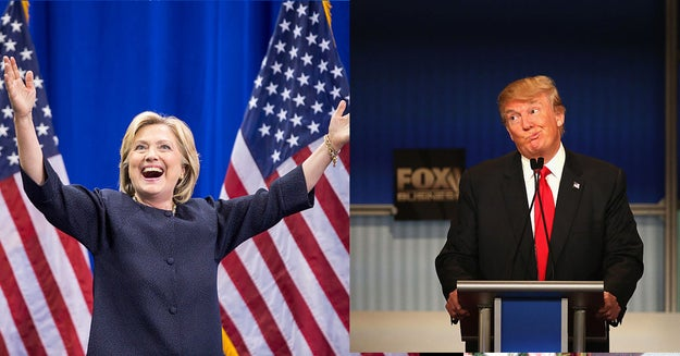 """When faced with the choice of """"Trump or Hillary"""" during a series of rapid-fire questions during an interview in the presidential palace aired on Facebook Live on Wednesday, he quickly responded """"Hillary."""""""