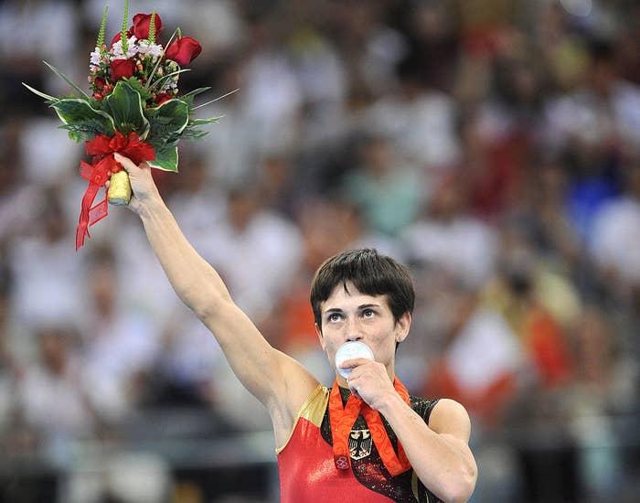 オクサナは五輪だけではなく、さまざまな世界選手権大会で、たくさんのメダルを獲ってきた。その数は、ほとんど数え切れないほどだ。