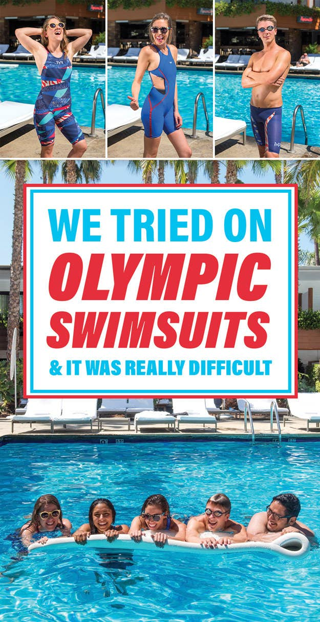 23f9680073568 This Is How Tough It Actually Is To Put On An Olympic Swimsuit