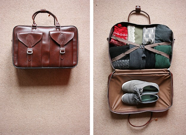 Take pictures of the inside and outside of your bag.