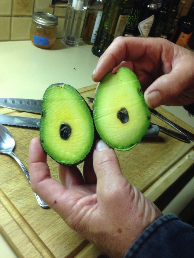You know when you've won the avocado lottery.