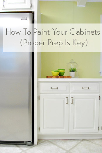 Paint your cabinets if you want them to feel fresh or different than how they feel now. But be forewarned: there's no actually easy AND affordable way to make this happen.
