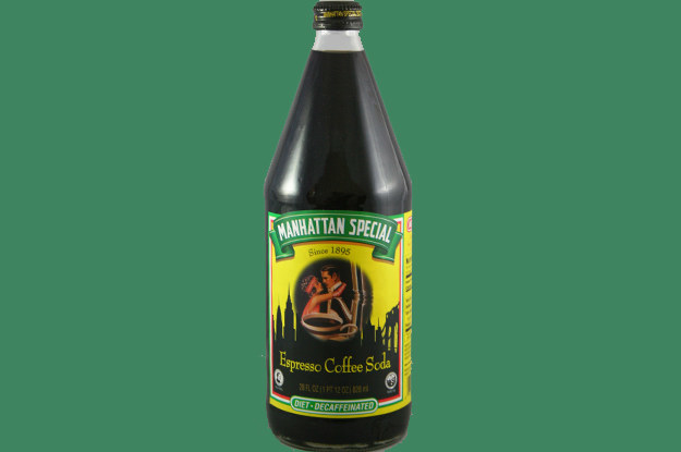 Manhattan Special Espresso Soda is something that New Yorkers love to espresso their love for.