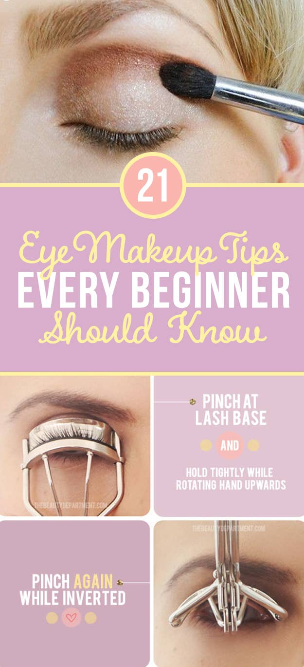 10 Eye Makeup Tips Beginners Secretly Want To Know