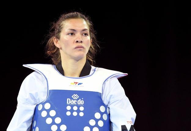 María del Rosario Espinoza - Taekwondo.