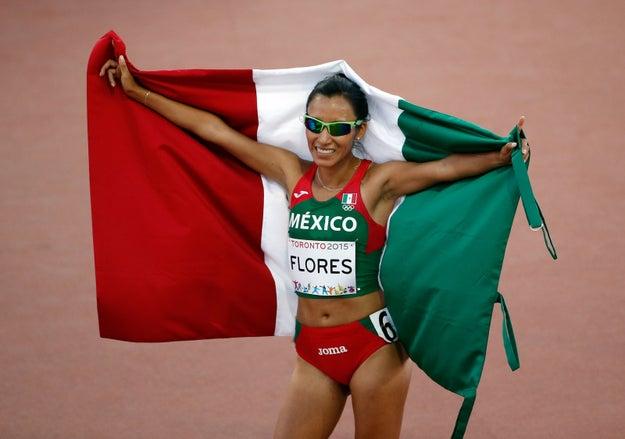 Brenda Flores - Atletismo.