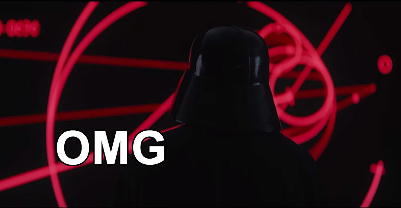 """You Guys, Darth Vader Briefly Appears In The New """"Rogue One"""" Trailer"""