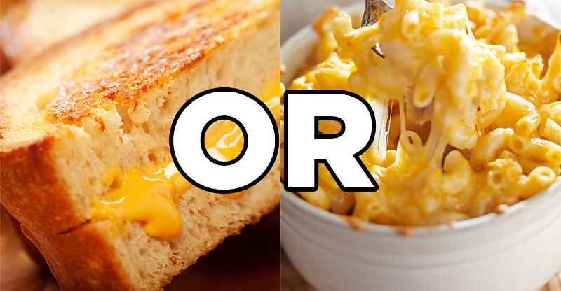 "The Hardest Game Of ""Would You Rather"" For Cheese Lovers"