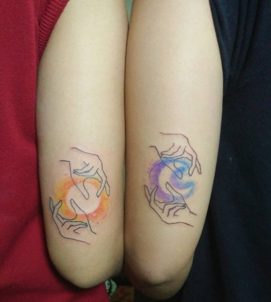 Tattoo Ideas Buzzfeed: 21 Adorable Matching Tattoos For Couples