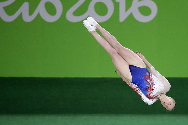 People Levitating At The Olympics Is The New Hottest Thing