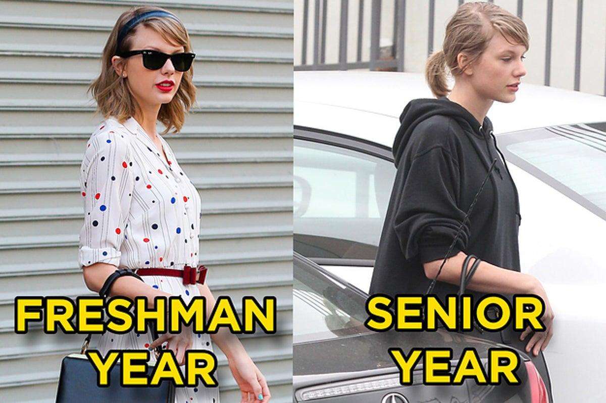 Year taylor swift freshman Taylor Swift