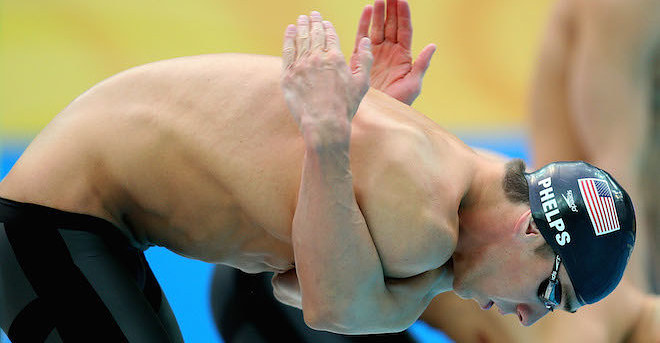 19 Pictures Of Michael Phelps Stretching That Will Make You Feel A Bit...