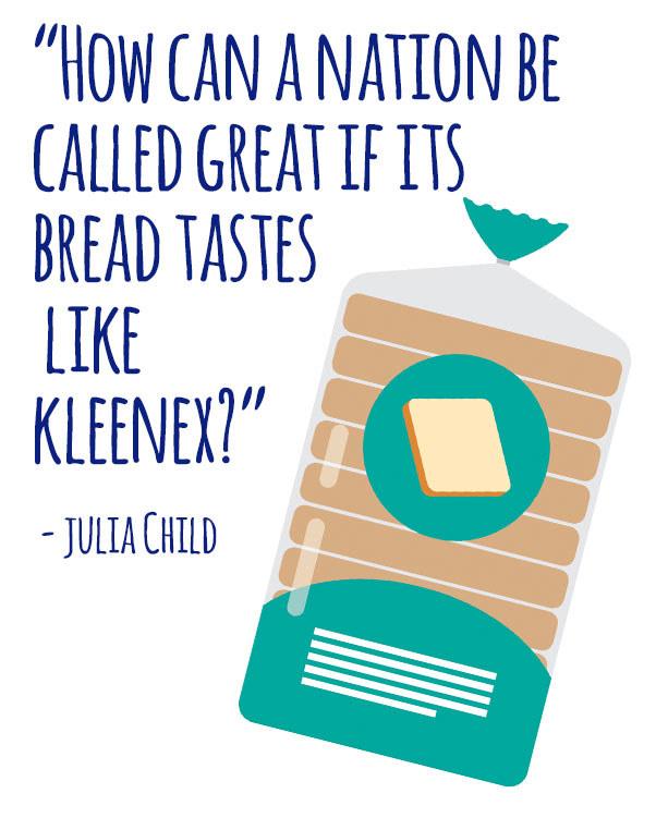 On Wonder Bread: