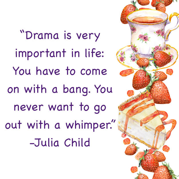 """On """"being too dramatic"""":"""