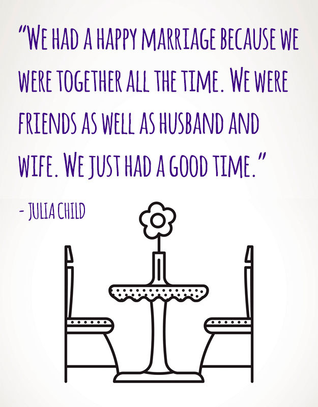 On marriage: